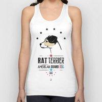 Rat Terrier: American Guard Dog Unisex Tank Top