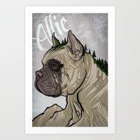 Allie Memorial Art Print