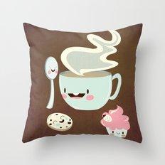 Coffee! Throw Pillow