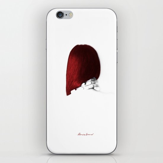 I Was Silent iPhone & iPod Skin