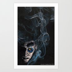 Shadow of the Nosferatu Art Print