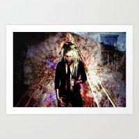 Aura Of A Magic Creation Art Print