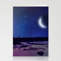 Night - From Day And Nig… Stationery Cards