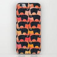 Black Rhino Sunset iPhone & iPod Skin