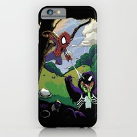 iPhone & iPod Case featuring Kid Spidey by Shawn Norton Art