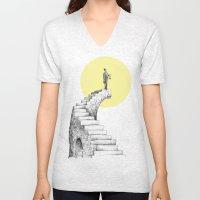 Moon Steps Unisex V-Neck