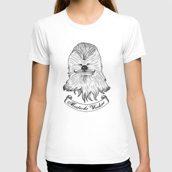 Mustache Wookiee T-shirt