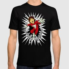 Mork from Ork Black SMALL Mens Fitted Tee
