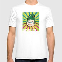 Discern Mens Fitted Tee White SMALL