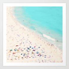 beach love III square Art Print