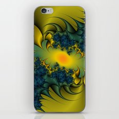 Blue Thistle iPhone & iPod Skin