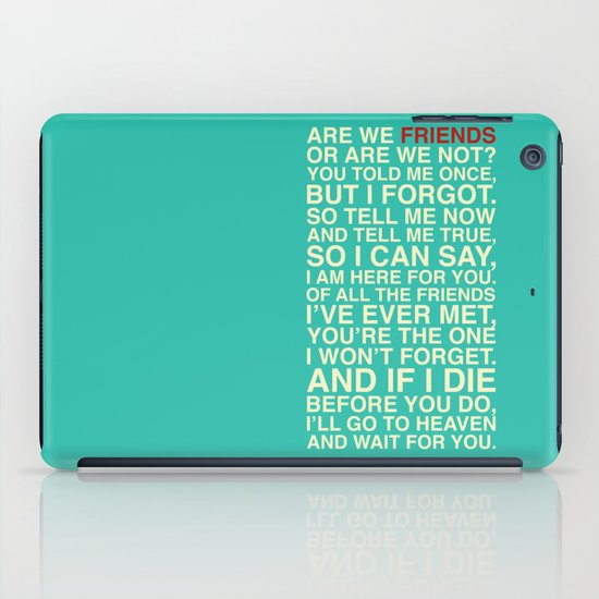 Friends iPad Case