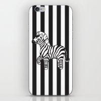 zebra stripe iPhone & iPod Skin