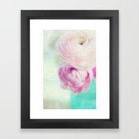 Spring Bouquet Framed Art Print