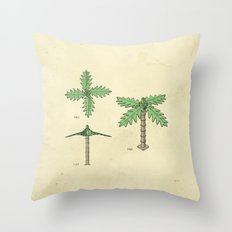 Lego Tree Throw Pillow