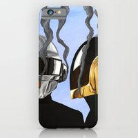 iPhone & iPod Case featuring Daft Punk Deux by FAMOUS WHEN DEAD