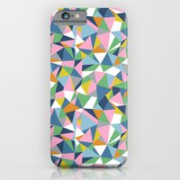 iPhone & iPod Case featuring Abstraction Repeat Pink by Project M