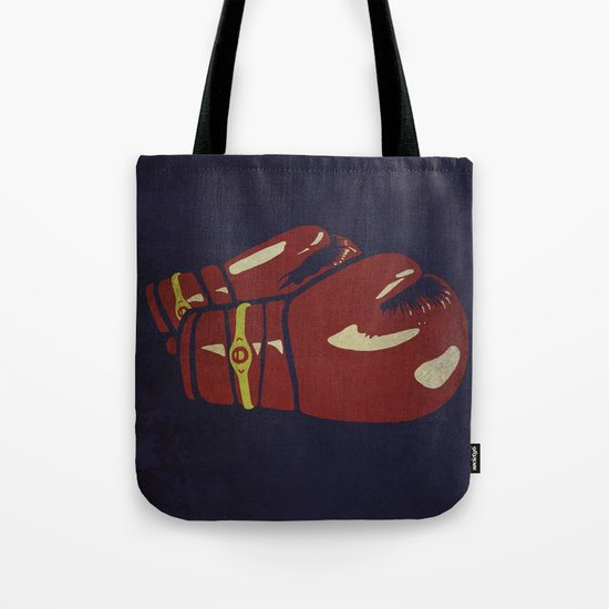 Power Boxing Tote Bag