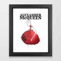 Alexander McQueen 2 Framed Art Print