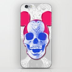 Mickey Mouse Skullface (aka Norman Bates' Dad) iPhone & iPod Skin
