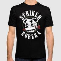 Striker Eureka Mens Fitted Tee Black SMALL