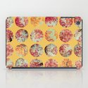 Sunflower Inkblot iPad Case