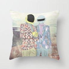 Daft Punk. Throw Pillow