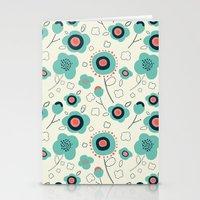 Floral Doodle Stationery Cards