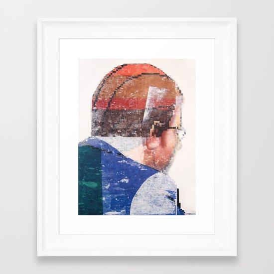 Negotiators (detail) Framed Art Print