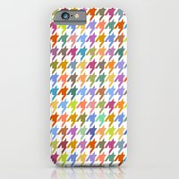 iPhone & iPod Case featuring Houndstooth!  by virginia odien