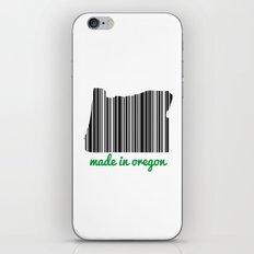 Made in Oregon iPhone & iPod Skin
