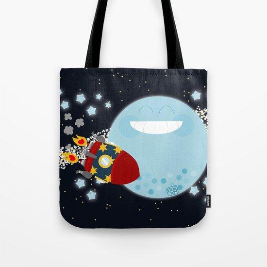 Le Voyage dans la Lune Tote Bag