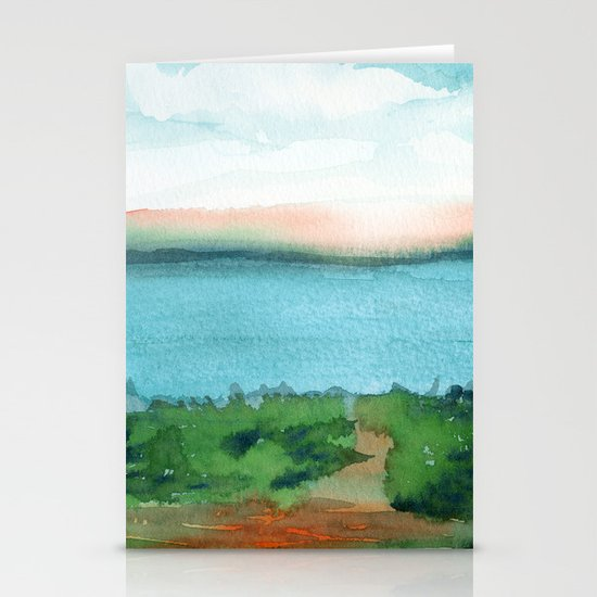 Passing Afternoon Stationery Card