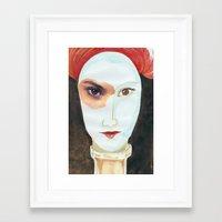 FRÁGIL Framed Art Print