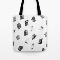 Marble Fragments Tote Bag