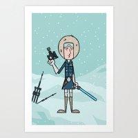 EP5 : Han Solo Art Print