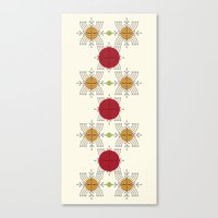 Follow The Dots Canvas Print