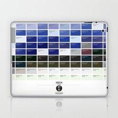 PANTONE glossary - Iceland - Grótta Laptop & iPad Skin
