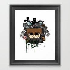 CRAFT - Book Cover Framed Art Print