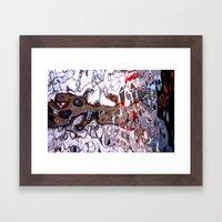 Kaskelot Reflections Framed Art Print