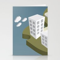 Adrift Alone Stationery Cards