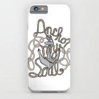 Anchor My Soul iPhone 6 Slim Case