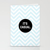 It's Casual. Stationery Cards