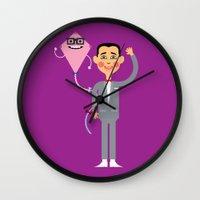 Saturday Morning Hero Wall Clock