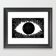 Stars In Your Eyes Framed Art Print