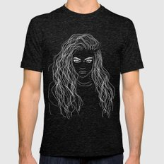 LORDE Mens Fitted Tee Tri-Black SMALL