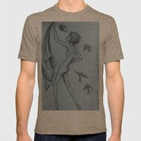 Fly Mens Fitted Tee Tri-Coffee SMALL