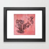 Suspiro Framed Art Print
