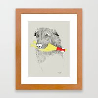 Lulaby Framed Art Print