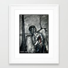 To Wound Framed Art Print